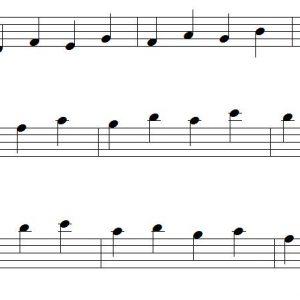 Tonleiterübung Nr.2 – Alle Tonarten / Scale Exercise No.2 – All Keys